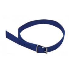 Cow Collar Blue Nylon