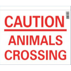Animal Crossing Sign