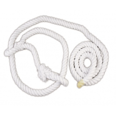 Bull Show Halter Cotton White