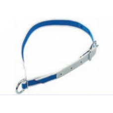 Cow Collar Blue & White Nylon 1.3m