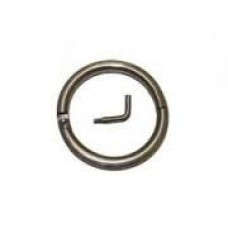 Bull Ring Stainless Steel 2.5 Inch