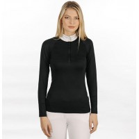 Sara Competition Shirt Long Sleeve Black