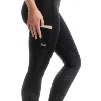 HW Riding Tights Silicon Black