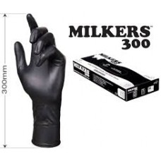 Milkers Gloves Black