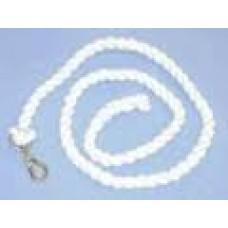 Lead Rope Cotton Plain White