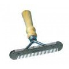 Metal Currycomb Double Sided